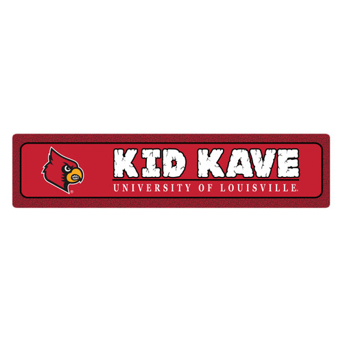 "Louisville 4""x18"" Metal Sign"