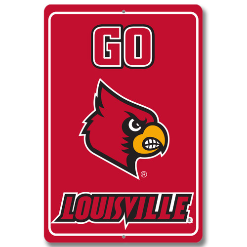 "Louisville 12"" x 18"" Metal Sign"