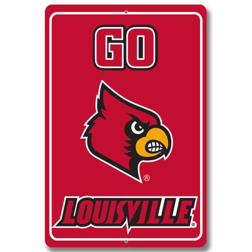 "Louisville 12"" x 18"" Metal Sign"