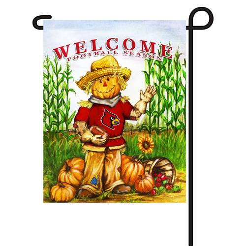 Louisville Scarecrow Garden Flag