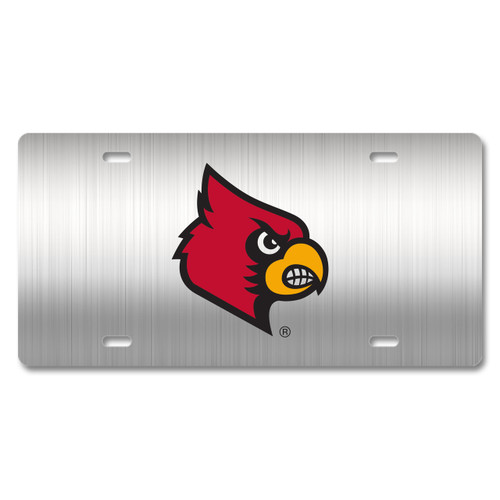 Louisville Metal License Plate