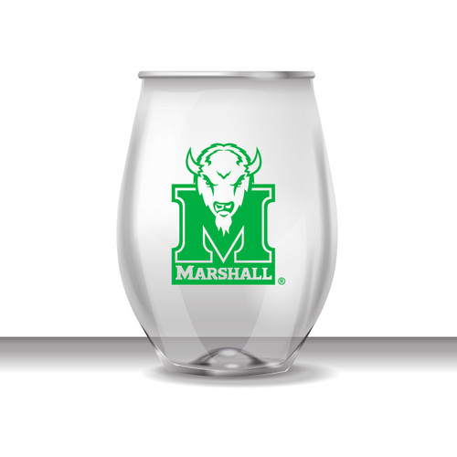 Marshall 16 oz Stemless Plastic Cup