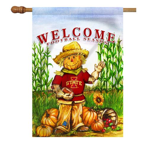 Iowa State Scarecrow House Flag