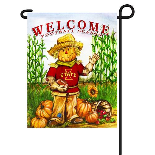 Iowa State Scarecrow Garden Flag