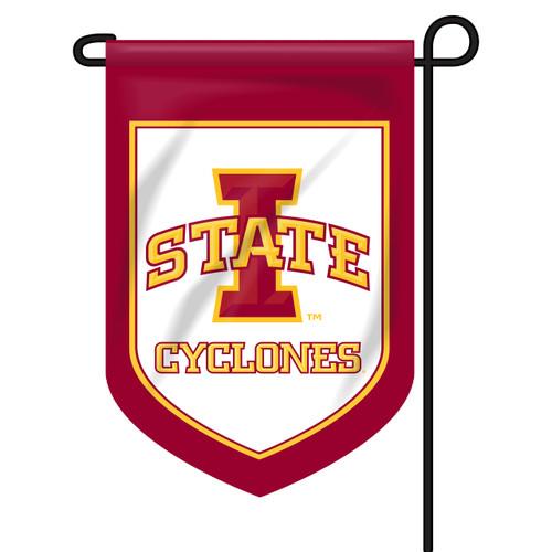 Iowa State Rectangle Shield Flag