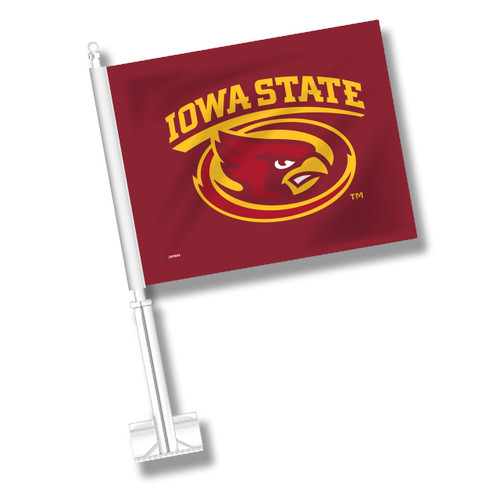 Iowa State Car Flag - Cyclone