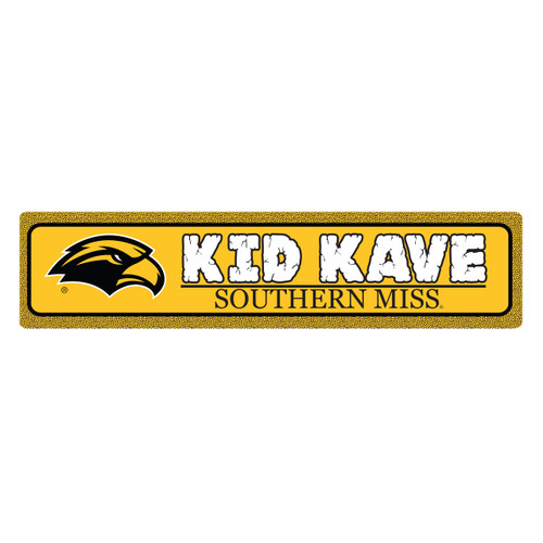 "Southern Miss 4""x18"" Metal Sign"