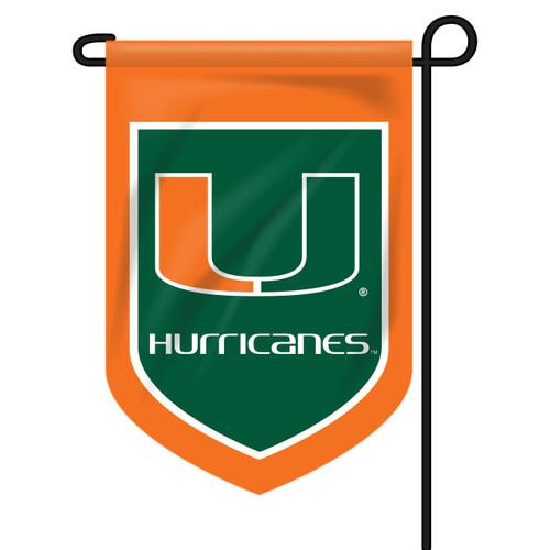Miami Shield Garden Flag