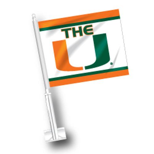 Miami Car Flag - The U