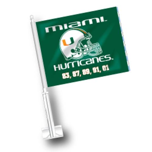 Miami Car Flag - Championships