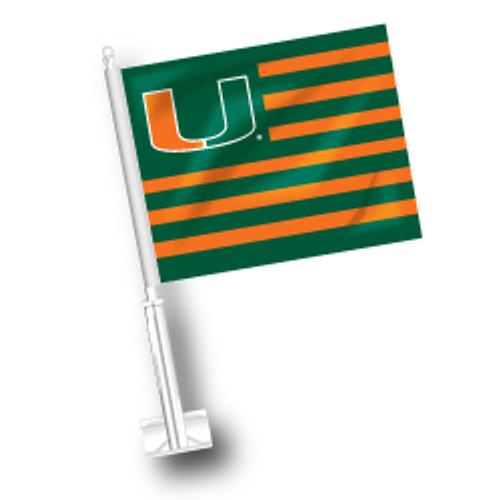 Miami Car Flag - American