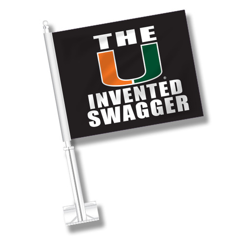 Miami Car Flag - Swagger