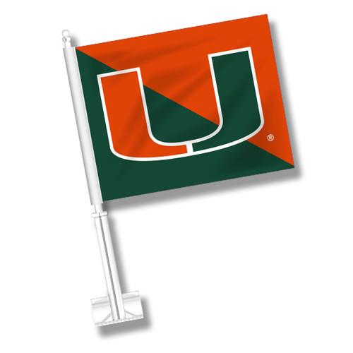 Miami Car Flag - Split