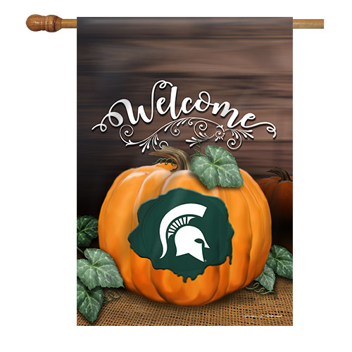 Michigan State Pumpkin House Flag