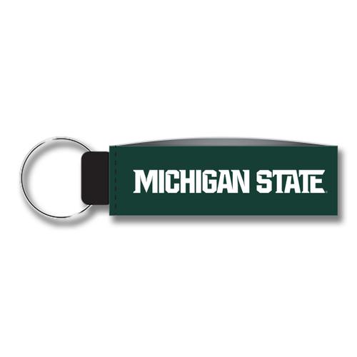 Michigan State Keychain Wristlet