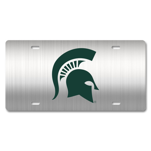 Michigan State Metal License Plate