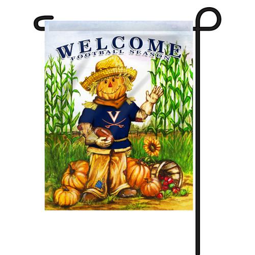 Virginia Scarecrow Garden Flag