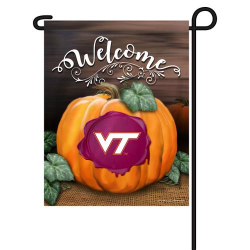 Virginia Tech Pumpkin Garden Flag