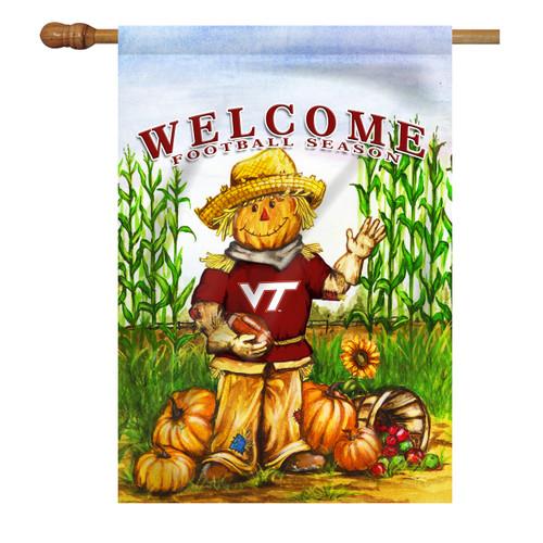 Virginia Tech Scarecrow House Flag