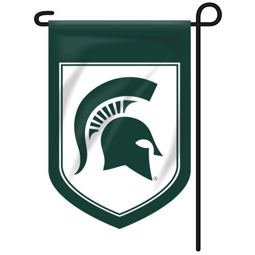 Michigan State Shield Garden Flag