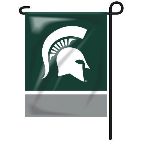 Michigan State Rectangle Garden Flag