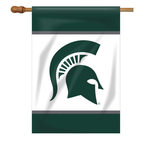 Michigan State Rectangle House Flag
