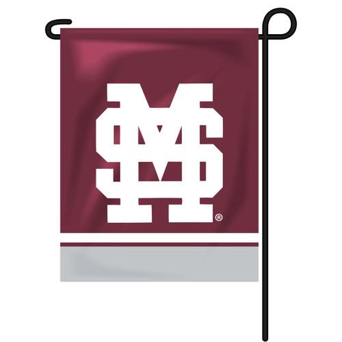 Mississippi State Rectangle Garden Flag - Baseball