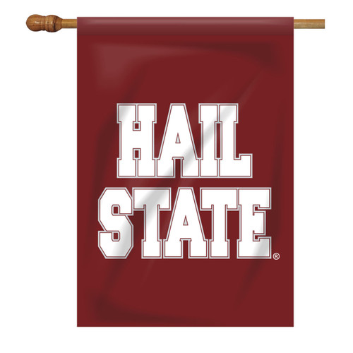 Mississippi State Rectangle House Flag - Hail State