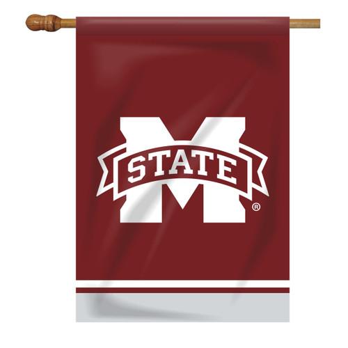 Mississippi State Rectangle House Flag - M