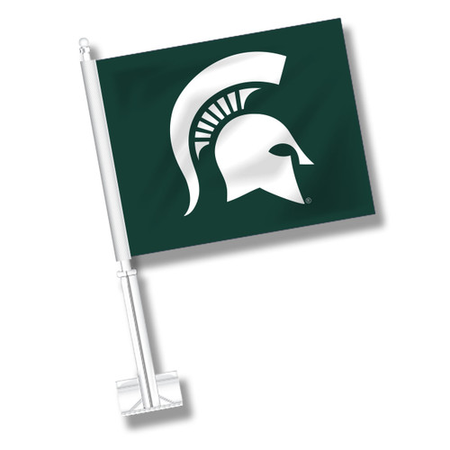 Michigan State Car Flag