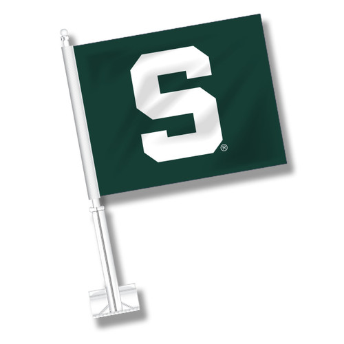 Michigan State Car Flag - S