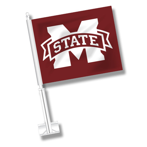 Mississippi State Car Flag