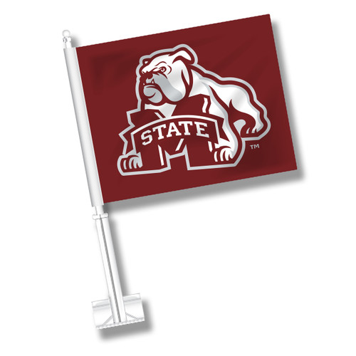 Mississippi State Car Flag - Dog