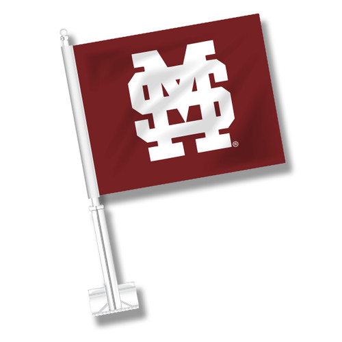 Copy of Mississippi State Car Flag - Baseball