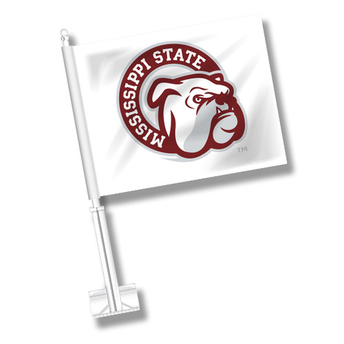Mississippi State Car Flag - Dog Head