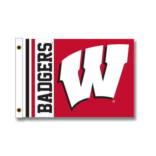 Wisconsin Tailgating Flag