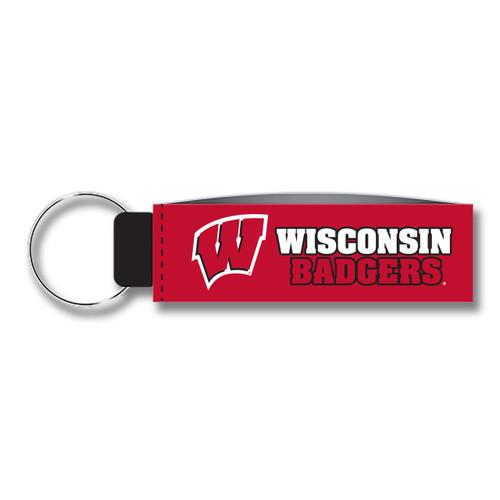 Wisconsin Keychain Wristlet