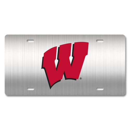 Wisconsin Metal License Plate
