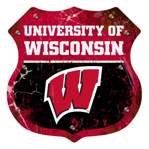 "Wisconsin 12"" Road Sign"
