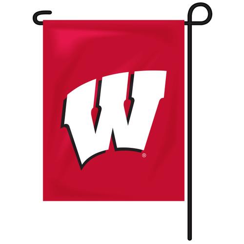 Wisconsin Rectangle Garden Flag