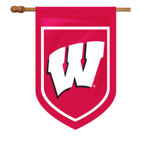 Wisconsin Shield House Flag
