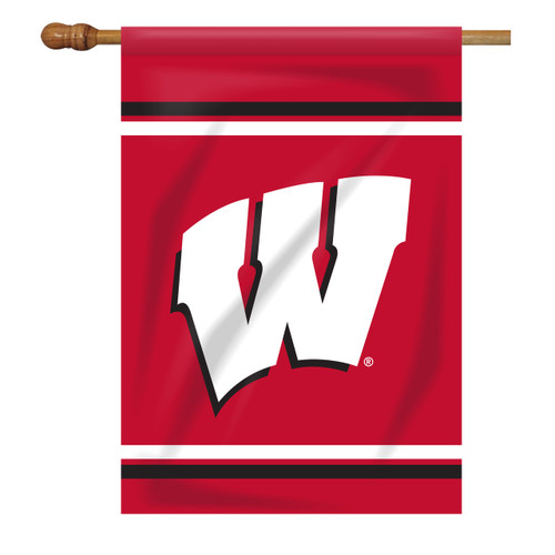 Wisconsin Rectangle House Flag