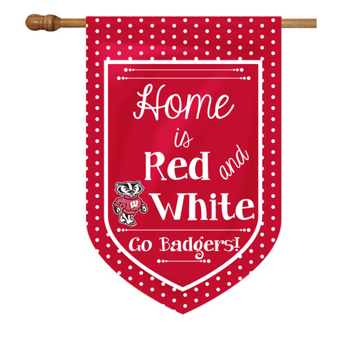 Wisconsin House Flag - Home Is