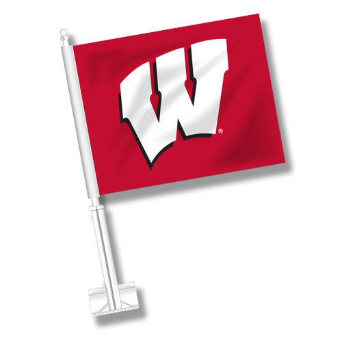 Wisconsin Car Flag