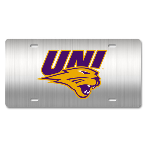 UNI Metal License Plate