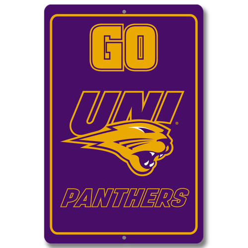 "UNI 12"" x 18"" Metal Sign"