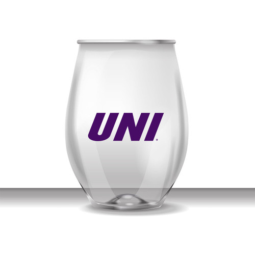 UNI 16 oz Stemless Plastic Cup