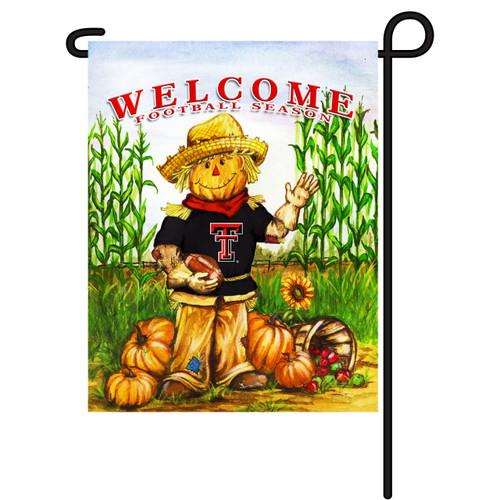 Texas Tech Scarecrow Garden Flag