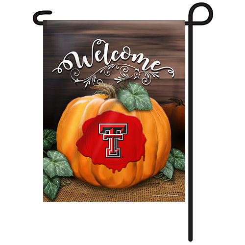 Texas Tech Pumpkin Garden Flag