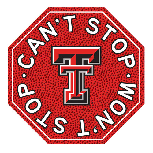 "Texas Tech 12"" Road Sign"